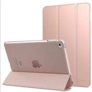 Ipad mini 4 case in rose gold